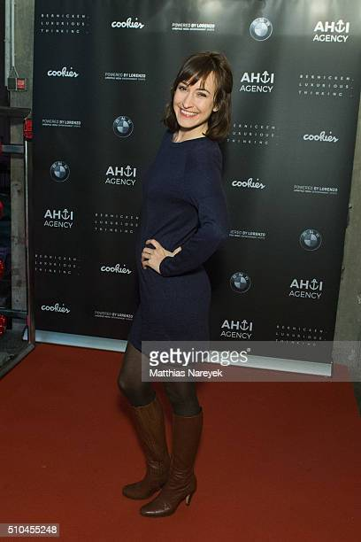 Maike von Bremen attends the Ahoi Agency Apero as part of the 66th Berlinale International Film Festival at Cookies Mini Club on February 15 2016 in...