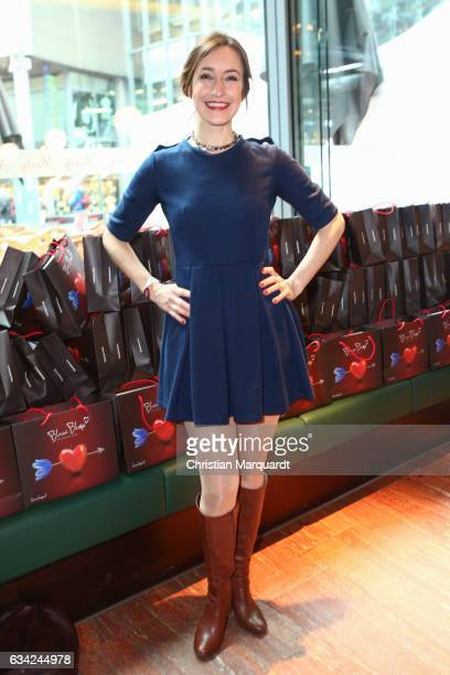 Maike von Bremen attends the Blaue Blume Awards 2017 at Sony Center on February 8 2017 in Berlin Germany