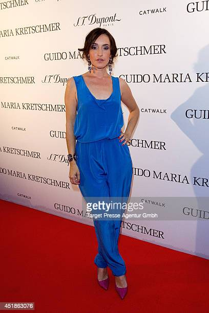 Maike von Bremen attends the Guido Maria Kretschmer and ST dupont product launch at Hotel Marriott on July 8 2014 in Berlin Germany
