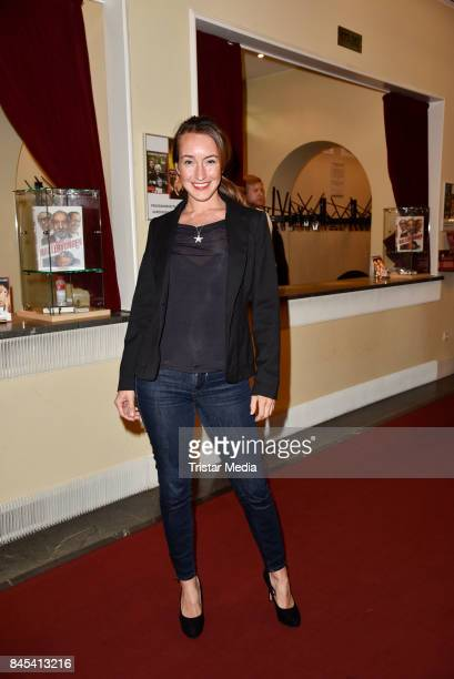 Maike von Bremen attends the premiere of 'Die Kameliendame' at Schlosspark Thetaer on September 10 2017 in Berlin Germany