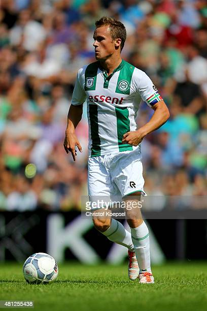 Maikel Kifetenbeld of Groningen during the friendly match between FC Groningen and FC Southampton at Euroborg Arena on July 18 2015 in Groningen...