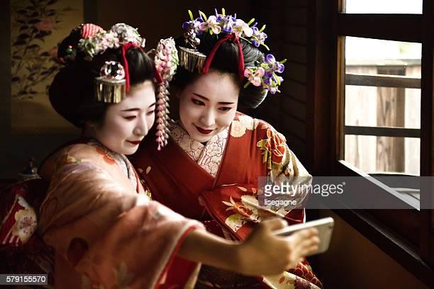 Maiko girls photo messaging