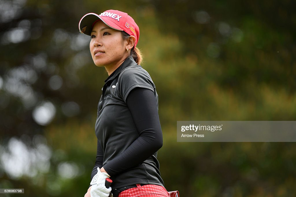 <a gi-track='captionPersonalityLinkClicked' href=/galleries/search?phrase=Maiko+Wakabayashi&family=editorial&specificpeople=6779667 ng-click='$event.stopPropagation()'>Maiko Wakabayashi</a> of Japan Looks on during the second round of the World Ladies Championship Salonpas Cup at the Ibaraki Golf Club on May 6, 2016 in Tsukubamirai, Japan.