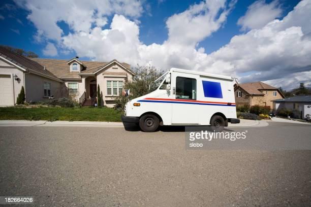 郵便物のお届けをエリア