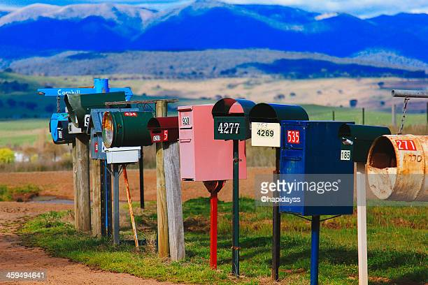 Mailboxes in Mansfield