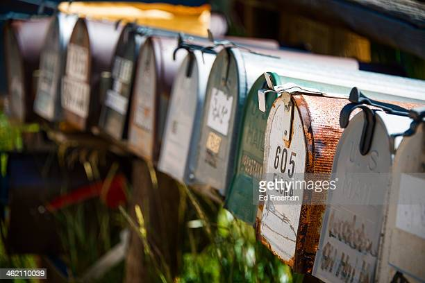 Mailboxes in Rural Setting