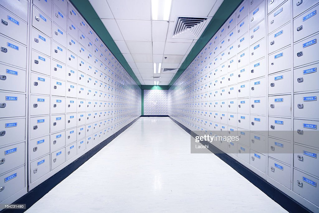 Mailboxes : Stock Photo