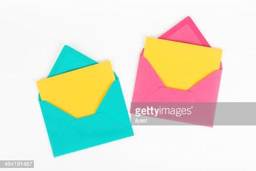Dirección postal : Foto de stock