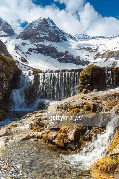 Maillet plateau Troumouse glacier cirque HautesPyrenees department MidiPyrenees region France Europe