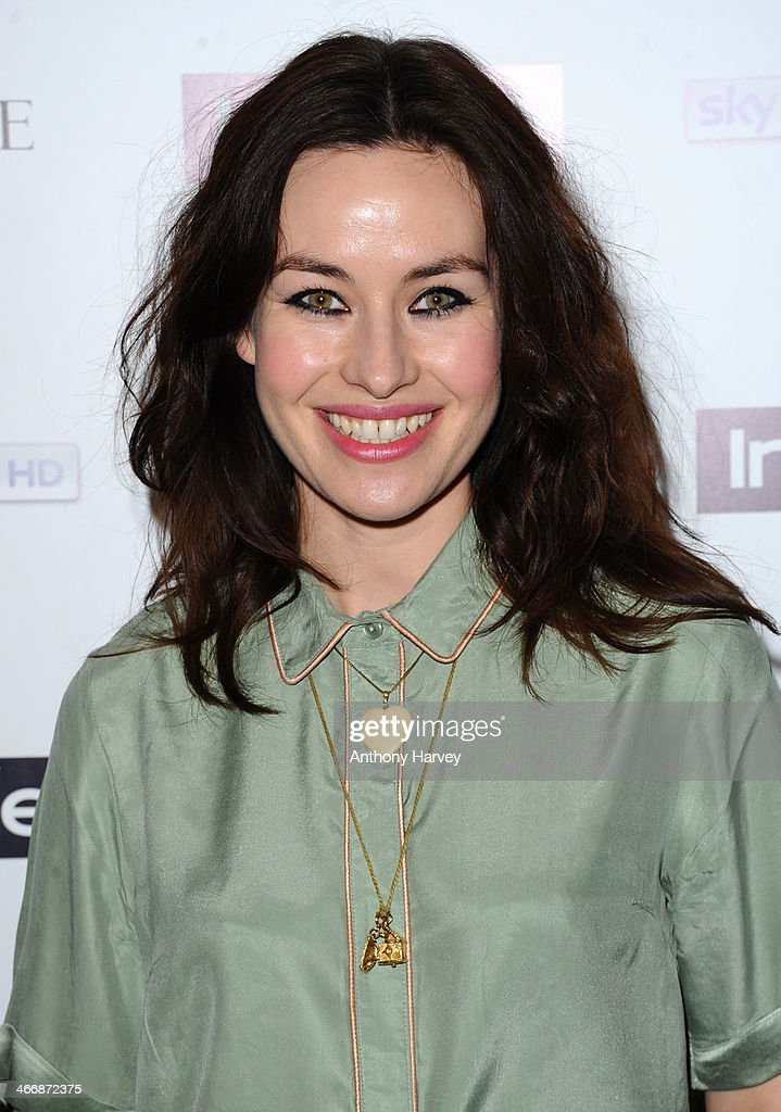 Maimie McCoy attends InStyle magazine's The Best of British Talent pre-BAFTA party at Dartmouth House on February 4, 2014 in London, England.