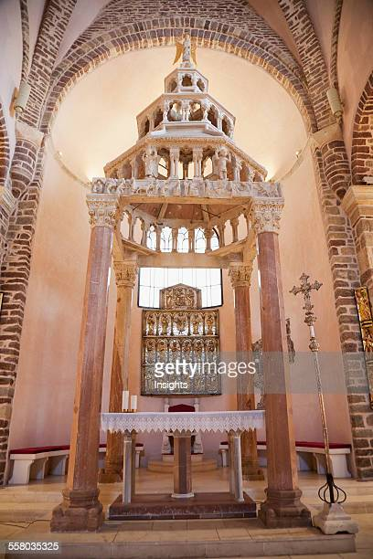 Main Altar Of The Cathedral Of Saint Tryphon Kotor Montenegro
