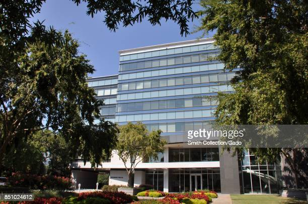 Main building facade at the headquarters of credit bureau Equifax in downtown Atlanta Georgia September 20 2017 In September of 2017 a data breach at...