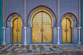 Dar al-Makhzen - a royal palace of the Alaouite sultan in the city of Fez, Morocco