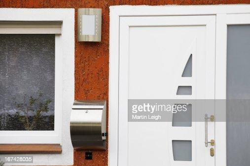 main entrance detail in Germany : Foto de stock