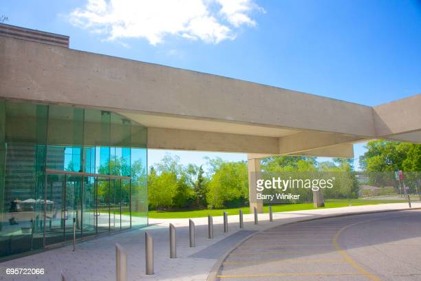 Main entrance to new West Wing of Cleveland Museum