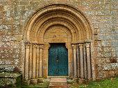 Benedictine Monastery of Santa Cristina de Ribas de Sil. Ourense. Spain