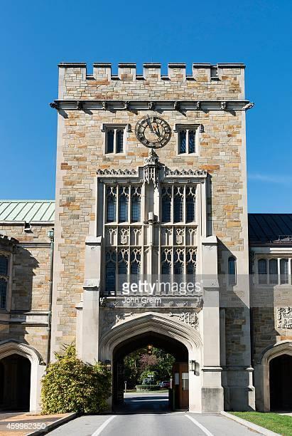 Main gate at Vassar College