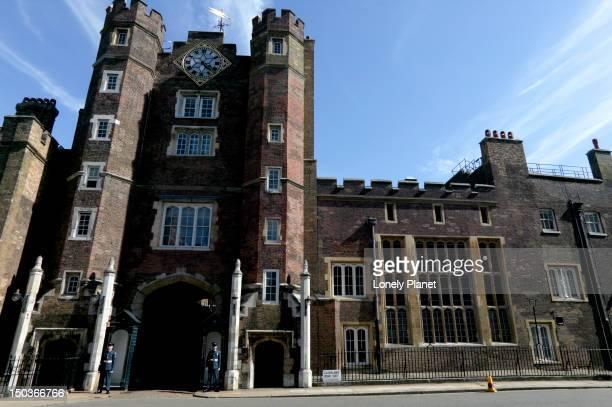 Main gate, St James Palace.