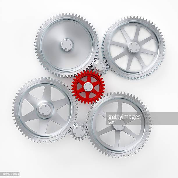 Main gear in an abstract machine