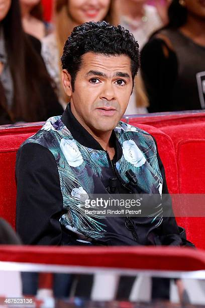 Main guest of the show Humorist Jamel Debbouze presents the movie 'Pourquoi j'ai pas mange mon pere ' wich he directed and played in during the...
