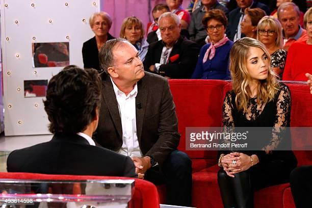 Main Guest of the Show Impersonator Laurent Gerra Director Christian Carion and Actress Alice Isaaz present the Movie 'En Mai fait ce qu'il te plait'...
