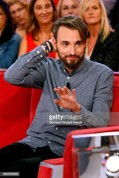 Main Guest of the show singer Christophe Willem presents his Album 'Paraitil' and his Concerts Tour 'Les nuits Paraitil' during the 'Vivement...