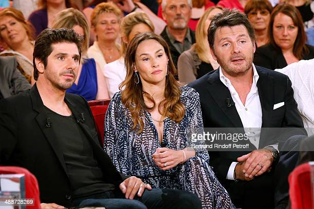 Main guest of the show singer Patrick Fiori presents his album 'Choisir' and celebrates its twentyyear career Actors Vanessa Demouy and her husband...