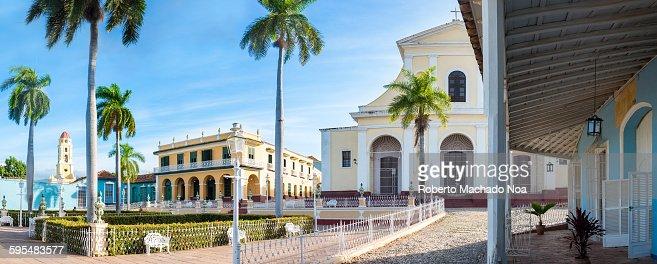 Main Plaza in Trinidad de Cuba