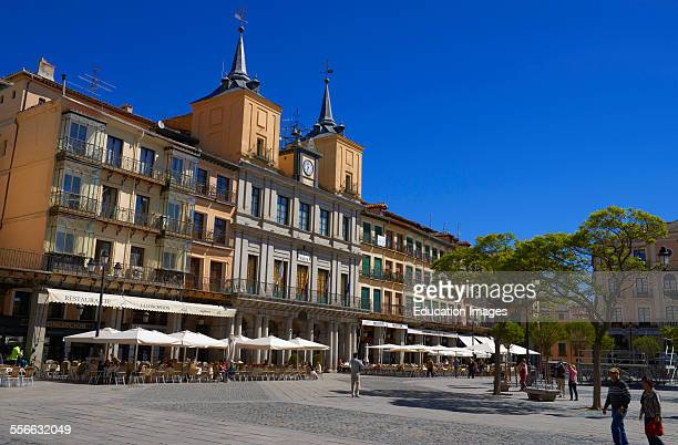 Main Square Town Hall Segovia CastillaLeon Spain