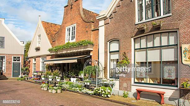 Main Straße Gebäude in Edamer, Neatherlands