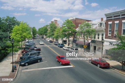 Main Street, Easton, Maryland : ストックフォト