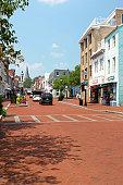 Main Street, Formerly Church Street, Annapolis, MD