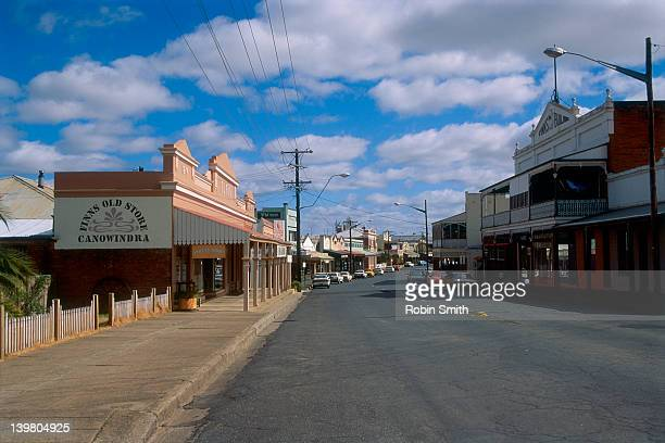 Main street in country town,Canowindra,NSW