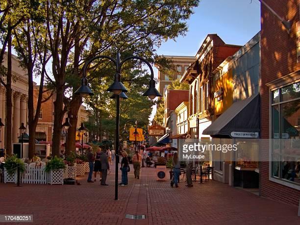 Main Street Pedestrian mall Charlottesville VA