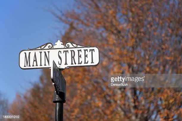 Panneau Main Street