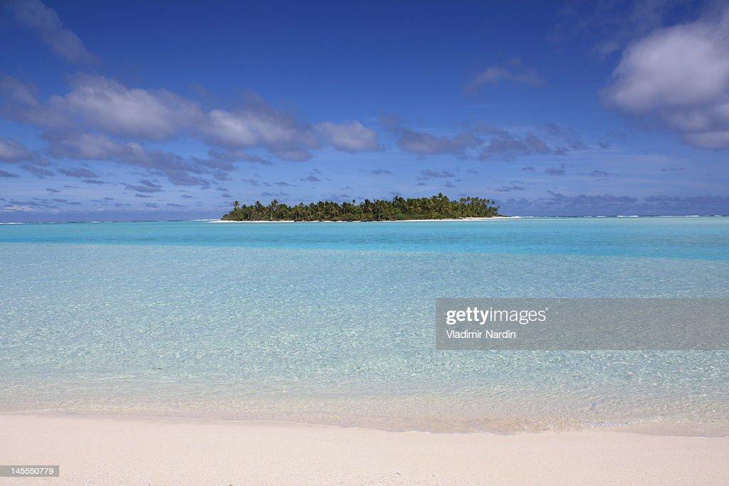 Maina island : Stock Photo