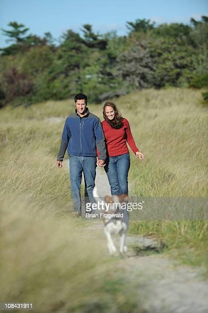 Maine Beach Couple