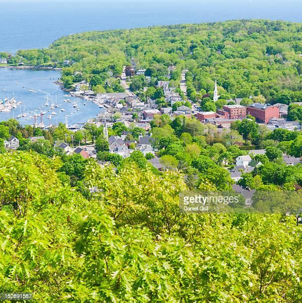 USA, Maine, Camden townscape