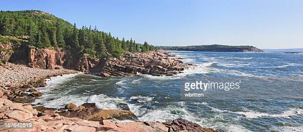 Maine Coastline Panorama