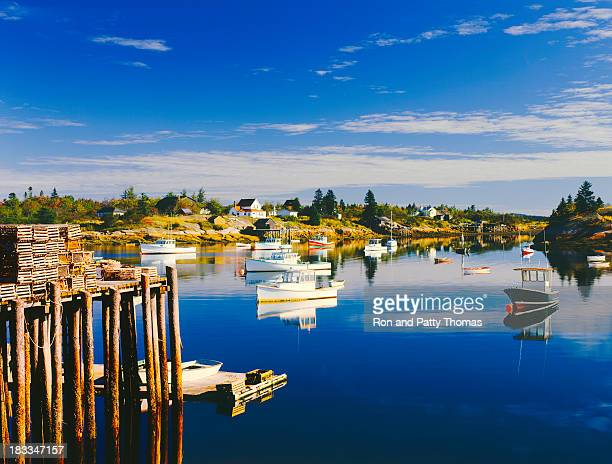 Maine Fishing Village