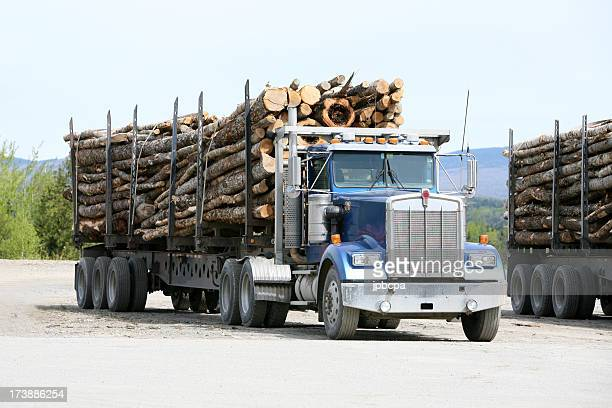 Maine Logging truck