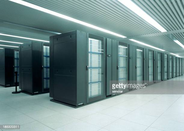 Mainframe computers in data center