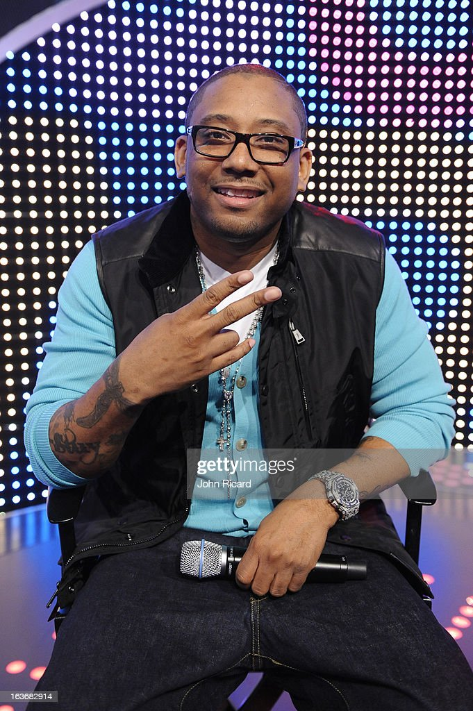 Maino at BET's '106 & Park' at BET Studios on March 14, 2013 in New York City.
