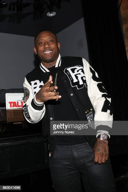 Maino attends his album release party at Beautique on October 18 2017 in New York City