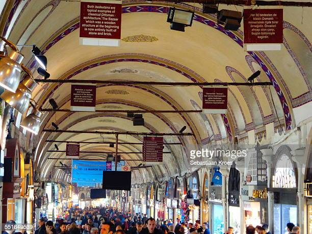 Mainstreet at the Grand Bazaar, Istanbul, Turkey