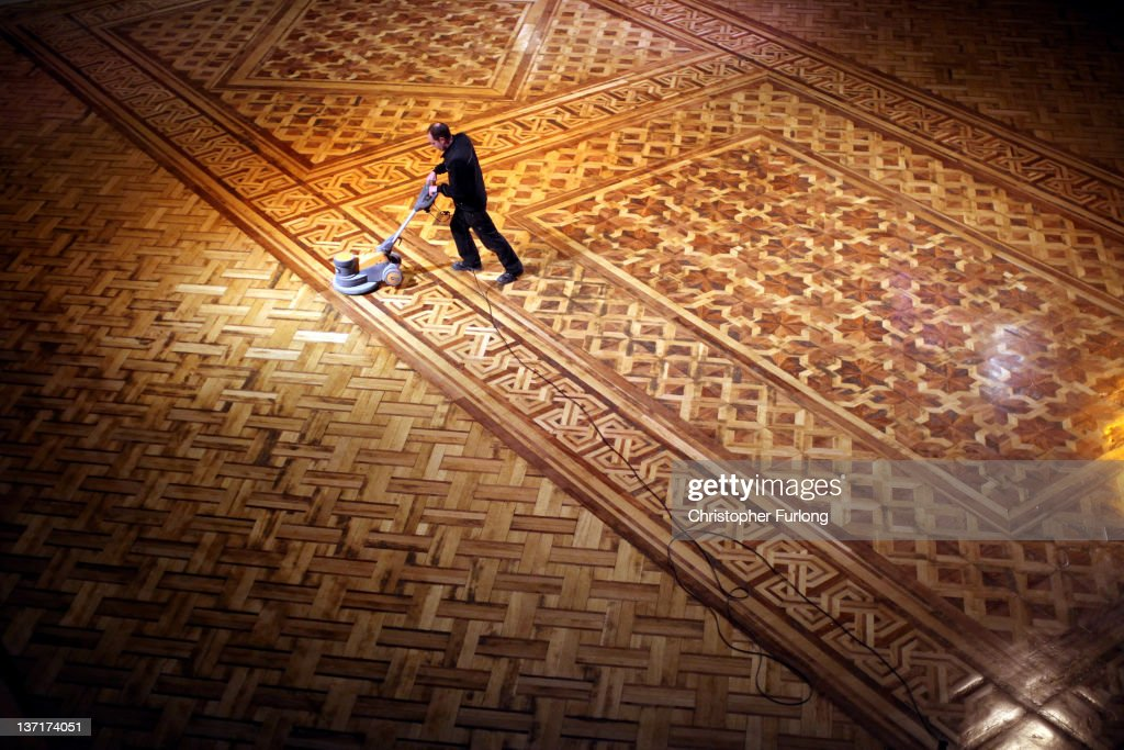 Cleaners give blackpool tower ballroom a good clean for Give the floor