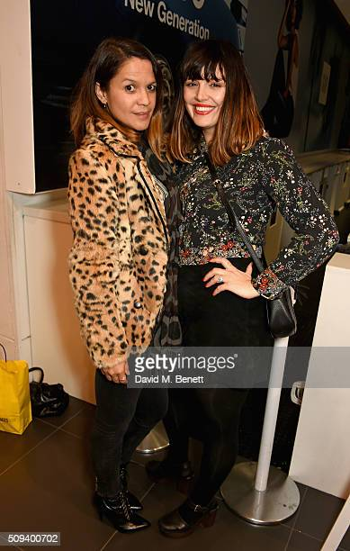 Mairead Nash and Lisa Moorish attend the Gap Partnership with Lion Coffee Records Launch Party at Gap Flagship Store Oxford Street on February 10...