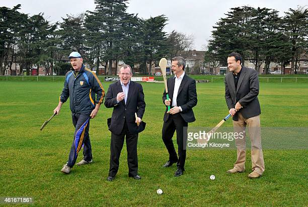 Mairtin Quilty Niall Gibbons Chris Hadfield and Leo Varadkar Coach Mairtin Quilty Niall Gibbons Tourism Ireland CEO Chris Hadfield and Leo Varadkar...