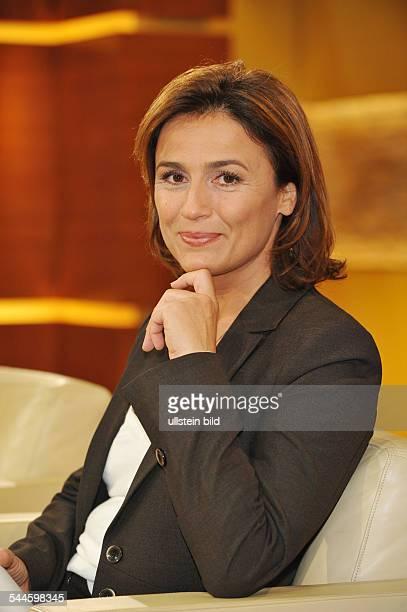 Maischberger Sandra Journalist TV Presenter Germany