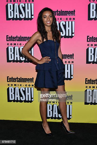 Maisie RichardsonSellers attends Entertainment Weekly's ComicCon Bash held at Float at Hard Rock Hotel San Diego on July 23 2016 in San Diego...